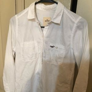 HOLLISTER white shirt